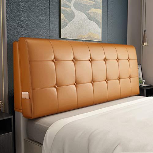 TCYLZ Hoofdborden voor queensize bedden rugleuning lezen bed wigkussen, hoge veerkracht spons, comfortabel in gebruik, voor tweepersoonsbed