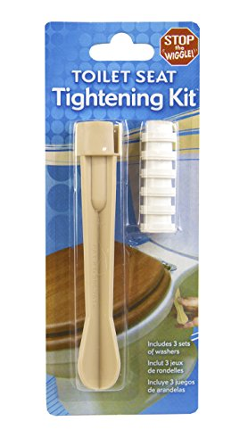 Ginsey All-in-One Toilet Seat Tightening Kit