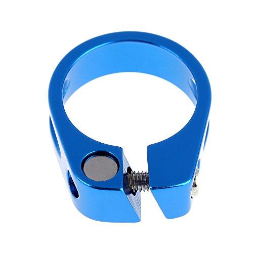 Broadroot bicicletta collarino sella 31.8mm in lega di alluminio per bici MTB parte blu