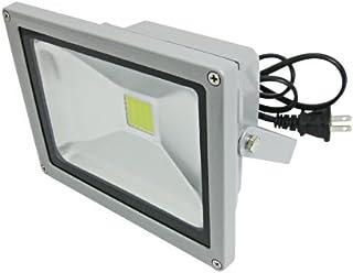 LEDワークライト フラットライト 投光機 20W AC85-265V