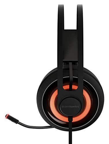 SteelSeries Siberia 650 - Auriculares para Juego, Sonido Dolby Surround 7.1, iluminación RGB, gestión de Software, (PC/Mac), Color Negro