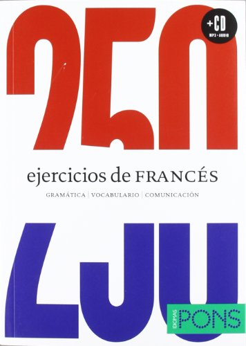 250 EJERCICIOS DE FRANCES