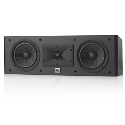 JBL Arena 125C 2-Way, Dual 5.5-Inch Center Channel Loudspeaker (Black)