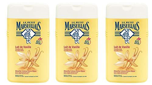 Le petit Marseillais Duschmittel Lait de Vanille Milch 3 x 250 ml