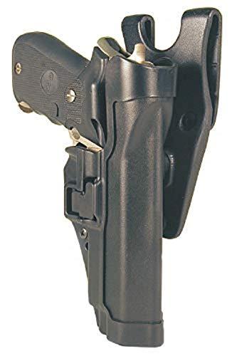BLACKHAWK Sepra Taser X-26 Level 2 Duty Holster, Matte Finish, Left Hand