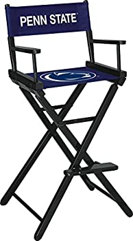 Imperial Officially Licensed NCAA Merchandise  Directors Chair  Tall Bar Height  Penn State Nittany Lions