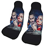 PARROT BEEK Harley Quinn Jo-Ker The Double Car Seat Cover Material is and Flexible, Suitable for Most Seats