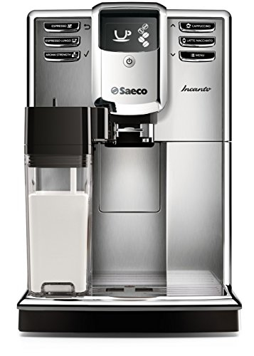 Saeco Incanto Carafe Espresso Machine, Stainless Steel