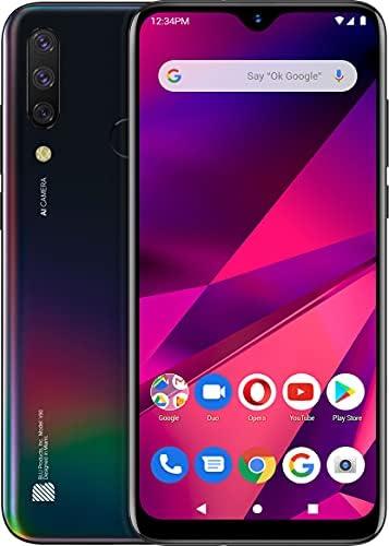 BLU V90 V0550WW 64GB Dual SIM GSM Unlocked Android Smartphone – Black