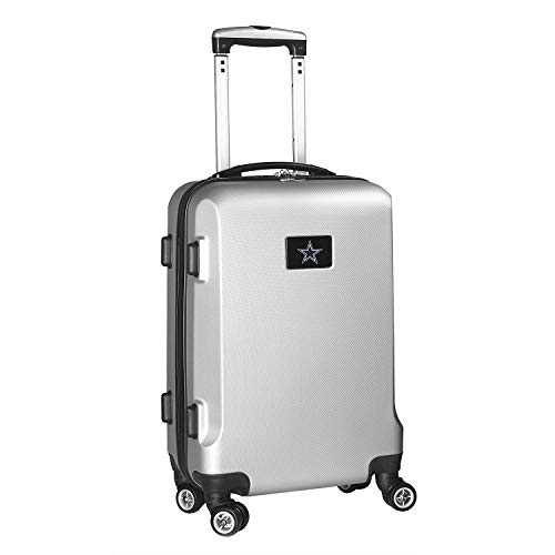 NFL Dallas Cowboys Carry-On Hardcase Luggage Spinner, Silver