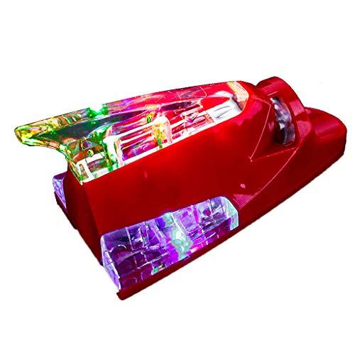 YHDNCG Hohe Helligkeit LED Auto LKW Windkraft LED Licht Dach Antenne Haifischflosse Warnung Blitzlicht Sicherheit ohne Batterieantrieb