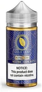 大人気 GOLD LEAF LIQUIDS VAPE 電子タバコ リキッド USA産 VapeHub.JPセット (ROYAL OAK, 100ml)