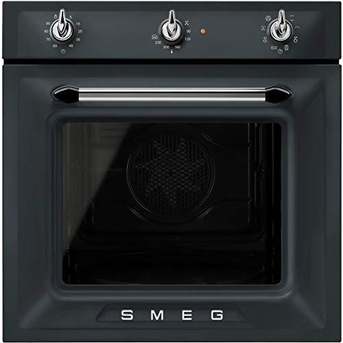 SMEG SF6905NO1 Four encastrable en acier inoxydable Noir mat