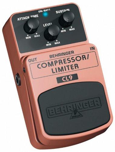 Behringer CL9 Compressor Limiter Effects Pedal
