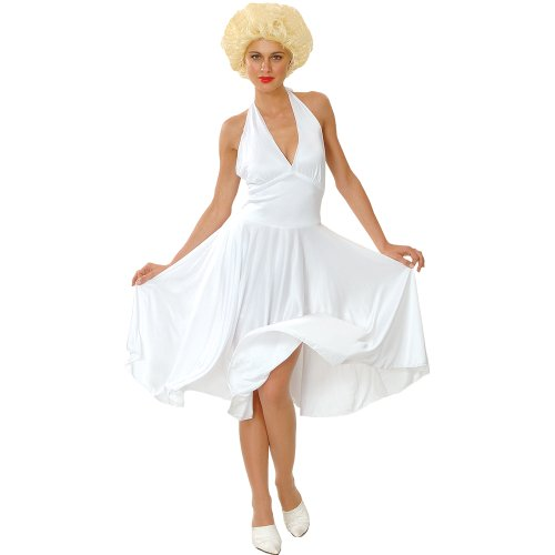 Marilyn Munro Hollywood Star Fancy Dress Costume Small (disfraz)