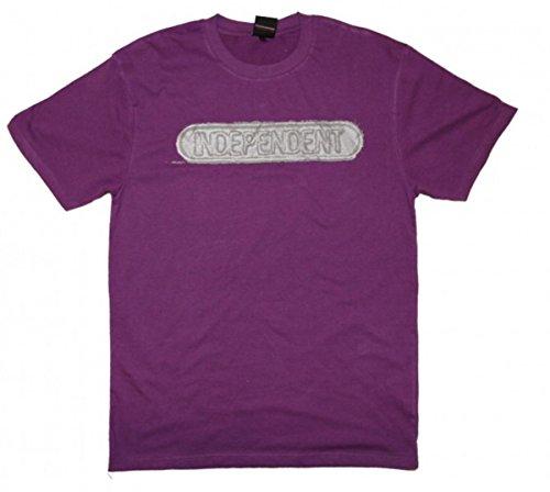Independent Truck Company Skateboard T-Shirt Baseplate Purple, Grösse:L
