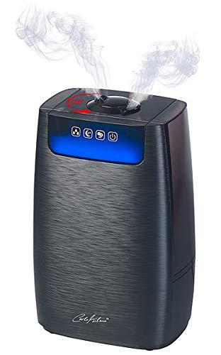 Carlo Milano Befeuchter: Ultraschall-Aroma-Luftbefeuchter & -Reiniger HEPA & Ionisator LBF-400 (Verdampfer)