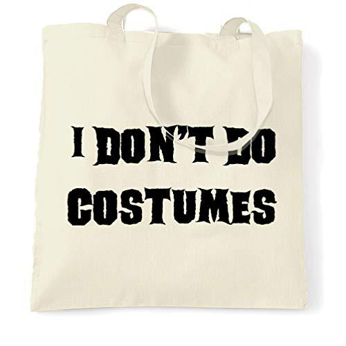Tim And Ted Neuheit Halloween Tragetasche I Do not Kostüme tun Natural One Size