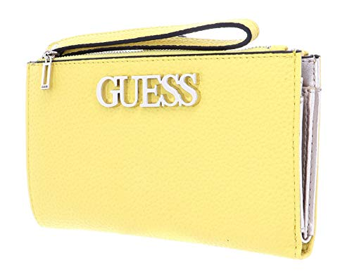 Guess SLG Double Zip Organizer Uptown Chic SLG Double Zip Organizer Yellow