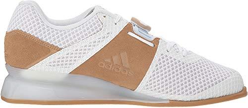 adidas Men's Leistung.16 II Cross Trainer, White/White/Gold Metallic, 15
