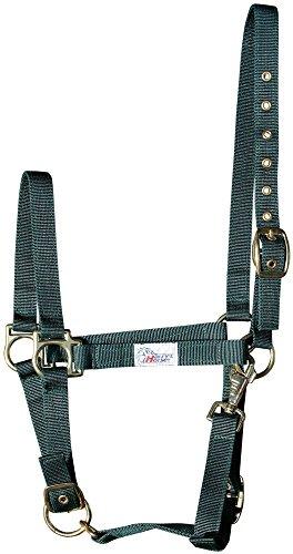 Harry\'s Horse Halster 3X verstelbaar, Größe:Pony, Farbe:Olive