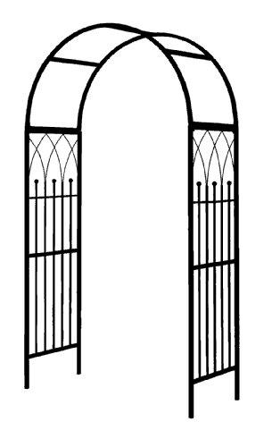Gardman R364 Westminster Garden Arch, black