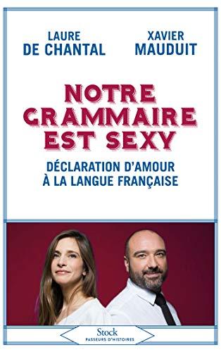 Notre grammaire est sexy: Déclaration d'amour à la langue française