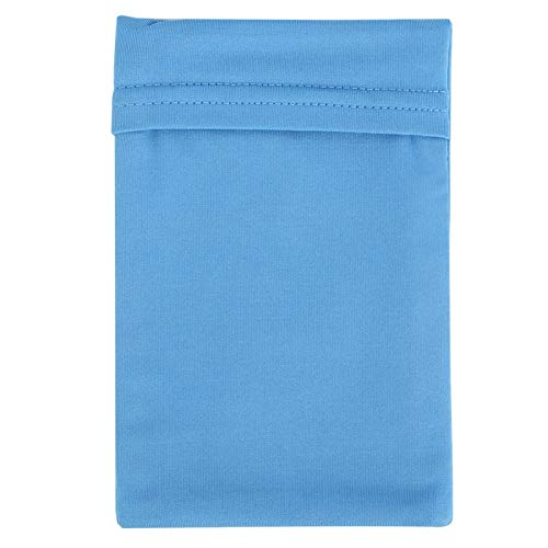 FOLOSAFENAR Sac de Bras de Sport Bande de Bras Absorption de l'humidité de Petite Taille Absorption de la Sueur(Sky Blue)