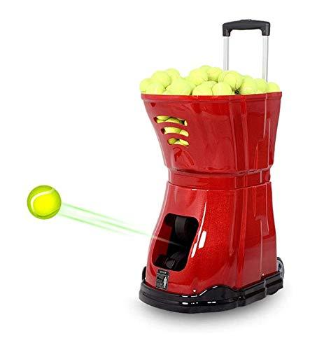 LCC Dispositivo Tennis Ball Machine Noise-Free Tennis Formazione Robot mittente Pitching Servire Machine100m Distanza di Telecomando Diverse modalità di Servizio