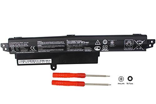 BATURU New A31N1302 Laptop Battery for ASUS VivoBook X200M X200CA X200MA F200CA K200MA 11.6' K200MA-DS01T A31LMH2 1566-6868 0B110-00240100E 0B110-00240000M - 11.25V 33WH - 18 Months Warranty