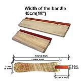 INTBUYING 45cm(18') Width of Wooden Handle Silk...