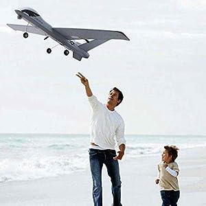 Tanktoyd Super Big 66cm Wingspan Remote Control Airplane Glide RC Plane Military Aircraft Model
