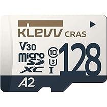 KLEVV microSDXC 128GB UHS-I U3 V30 A2 最大読込:100MB/s 4K...