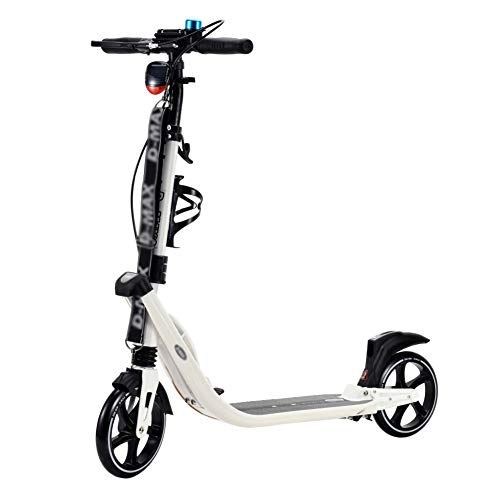 Purchase Scooter Portable 2 Wheels Adult/Kids Kick, T-Bar Adjustable Height Pedal Bicycle