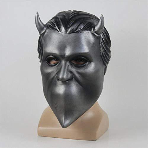 LWW Halloween Maskerade Maske,Explosion Modelle Ghost B.C. Band Un Ghoul Band Cosplay Latex Maske Maske