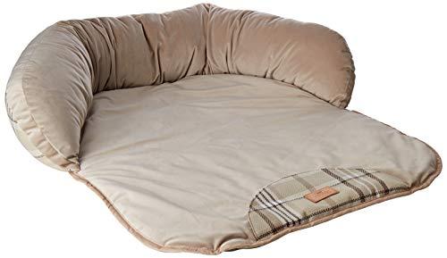 FERPLAST Dog Bed Lit Dundee Coussin Beige, Noir, Medium