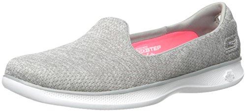 Skechers Performance Women's Go Step Lite Dynamik Walking Shoe,Gray Heather,8.5 M US