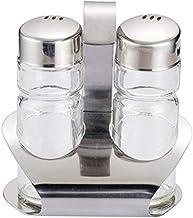 1 Set of Stainless Steel Seasoning Jar Kitchen Accessories Seasoning Jar Bottle Glass Pepper Salt Shaker Seasoning Bottle ...