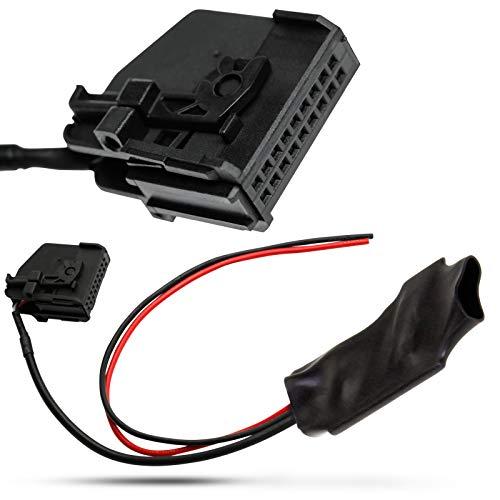 Câble adaptateur Bluetooth AUX IN 18 broches pour Mercedes Benz Comand 2.0 et Blaupunkt Comand APS 220