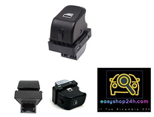 Botón elevalunas para A4 B8 8K A5 Q5 negro interruptor botón cristales eléctricos derecho