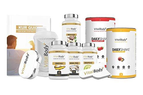 Orig. 30 Tage Apotheken Stoffwechselkur/HCG Diät, für Männer&Frauen - detaillierter Ablaufplan, Ernährungsplan & viele leckere Rezepte - professionelle Ernährungsberatung - Deutsche Premium Qualität!