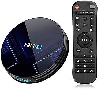 HK1 X3 4GB DDR3 RAM 64GB ROM Amlogic S905X3 Android 9.0 TV Box 8K @24fps 4K Ultra HD Support 2.4G/5.8G Dual WiFi BT 4.0 HD...