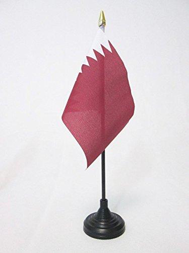 AZ FLAG Qatar Table Flag 4