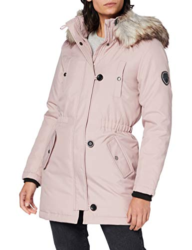 ONLY Damen ONLIRIS FUR Winter Parka CC OTW Jacke, Rose Dust, XL