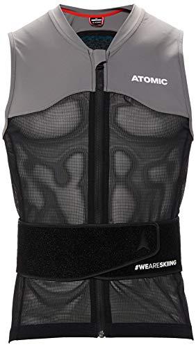 Atomic Herren Ski-Protektor-Weste Live Shield Vest AMID M, mit AMID-Body, Größe M, schwarz/grau, AN5205028M