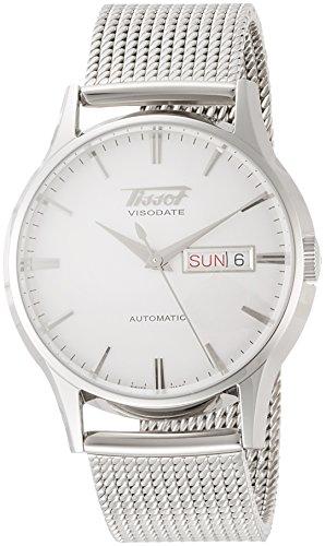 Tissot Herren-Uhren Analog Automatik One Size Edelstahl 87399818