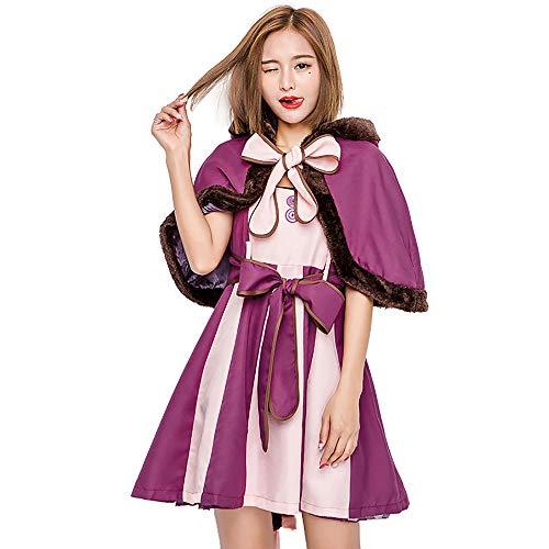 Updayday Disfraz de Cosplay de Gato de Cheshire, Disfraz de Cosplay de Alicia en el pas de Las Maravillas, Disfraz de Cosplay Kawaii, Vestido de Cosplay de Fiesta de Carnaval de Halloween