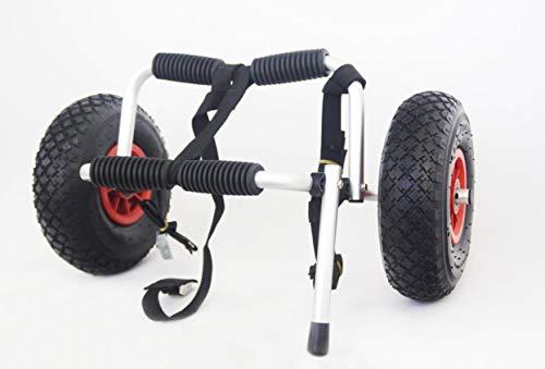 Capacidad: 36 kg. Tamaño plegado: 61 x 28 x 15 cm. Protectores de espuma. Soporte de patas para fácil carga y descarga. Incluye una correa para asegurar su kayak