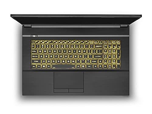 Prostar NH77HKQ 17.3-Inch FHD 144Hz 72% NTSC, Gaming Laptop, Intel i7-11800H, RTX 3050Ti 4GB, 16GB RAM, 500GB NVMe SSD, Windows 10