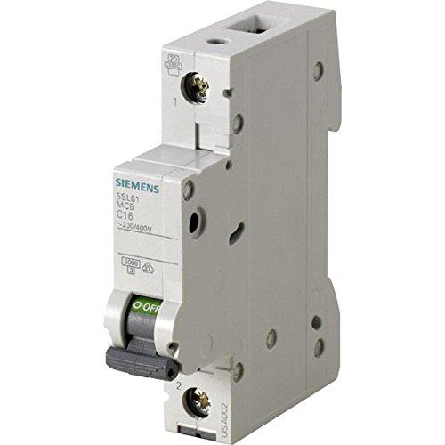 Siemens 5sl6 - Automático magnetotermico 230/400v 6ka 1 polo c-20a